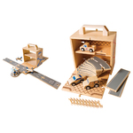 Box Set Wooden Airplane & Car Bundle Ages 3+ Years