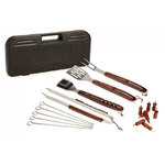 18pc Wood Handle Grill Utensil Set Product Image