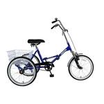 "Tri-Rad 20"" Adult Folding Trike Product Image"