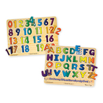 Numbers & Alphabet Sound Puzzle Bundle Ages 3-6 Years Product Image