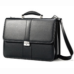 Leather Flapover Business Case Product Image