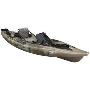 Predator Fishing/Hunting Kayak with Minn Kota Motor - Brown Camo Product Image