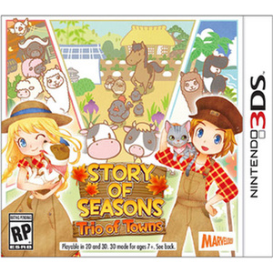 Story of Seasons:Trio of Towns Product Image