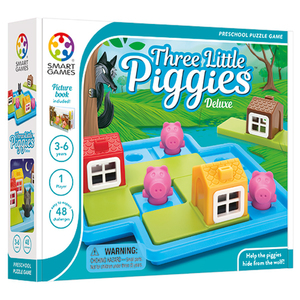 Three Little Piggies Deluxe Game Ages 4-7 Years Product Image