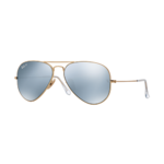 Ray-Ban Polarized Aviator Flash Lens Sunglasses Product Image