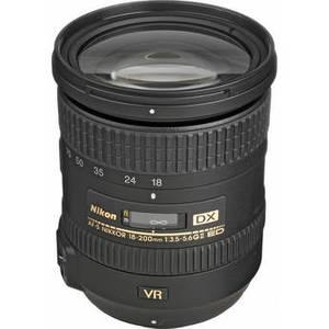 AF-S DX NIKKOR 18-200mm f/3.5-5.6G ED VR II Lens Product Image