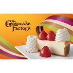 The Cheesecake Factory eGift eGift Card $10.00 Product Image
