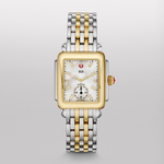 Ladies Deco 16 Two-Tone Watch Diamond & Mother of Pearl Dial Product Image
