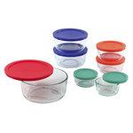 Simply Store 14pc Storage Set w/ Multi-Color Lids Product Image