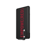 mophie Powerstation Plus (PRODUCT) RED with Switch-Tip Cable Product Image