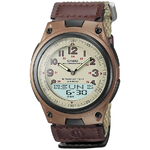 Brown Casual Sports Watch with Cloth Band Product Image