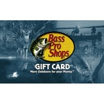 Bass Pro Shops eGift Card $25.00 Product Image
