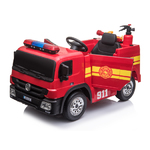12 Volt Battery Operated Fire Truck Product Image