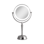 Zadro LED Lighted Vanity Mirror with Rechargeable Battery & USB Port 10X/1X Product Image