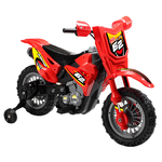 Red 6V Dirt Bike Product Image