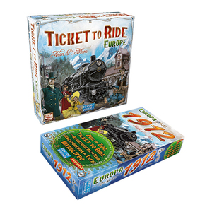 Ticket to Ride Board Game w/ Europa 1912 Expansion Product Image