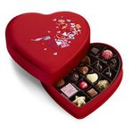 GODIVA® 25 Piece Valentines Fabric Heart Gift Box Product Image