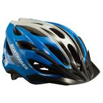 Solstice Youth Bike Helmet - Radioactive Yellow/Waterloo Blue Product Image