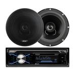200 Watt Car CD Receiver w/ Pair of Speakers Product Image