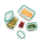 Good Grips 8pc SNAP Glass Rectangle Container Set Product Image
