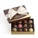 GODIVA® Signature Truffles w/Thank You Ribbon (12 Piece) Product Image