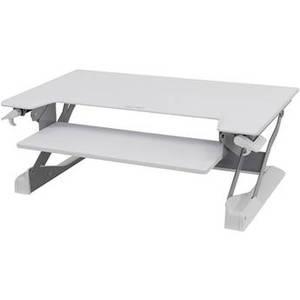 WorkFit-TL Sit-Stand Desktop Workstation (White) Product Image