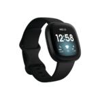 Fitbit Versa 3 (Black/Black Aluminum) Product Image