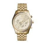 Mens Lexington Gold Tone Chronograph  Watch Product Image
