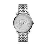 Ladies Tailor Multifunction Stainless Steel Watch White Dial Product Image
