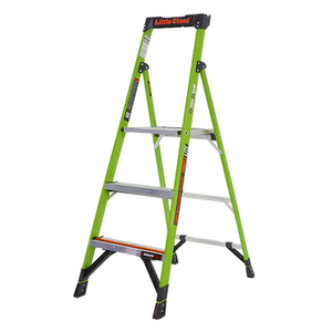 MightyLite 5ft Type 1A Fiberglass Ladder Product Image