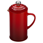 12oz Cafe Collection Stoneware French Press Cerise Product Image