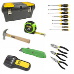 """Stanley Tool Kit with 19"""" Tool Box Product Image"""