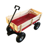 Children's Metal/Wood Side Rail Wagon Product Image