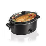 Stay or Go 6qt Slow Cooker Black Product Image