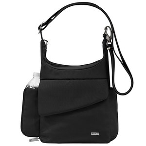 Anti-Theft Classic Messenger Bag Black Product Image