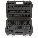 "42pc 3/8"" 6 Point Drive Combination Impact Socket Set Product Image"