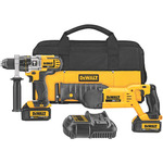 20V MAX Lithium Ion Hammerdrill / Recip Saw Combo Product Image