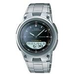 Unisex Analog/Digital Steel Watch Black Dial Product Image