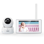 "Deluxe Wireless HD Video Baby Monitor w/ 5"" Touch Screen Product Image"