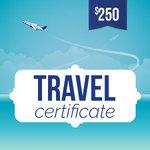 Online-Rewards travel voucher $250