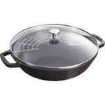 4.5qt Cast Iron Perfect Pan Matte Black Product Image