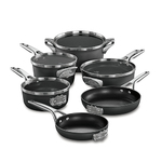 Premier Space Saving Hard Anodized 10pc Nonstick Cookware Product Image