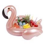 Inflatable Pool Bar Rose Gold Flamingo Product Image