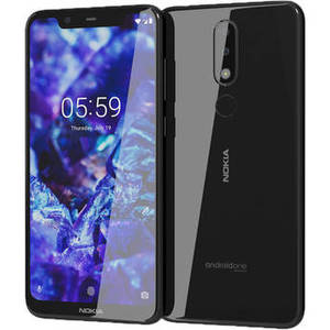 5.1 Plus TA-1120 Dual-SIM 32GB Smartphone (Unlocked, Black) Product Image