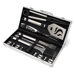 20pc Deluxe Stainless Steel Grill Set