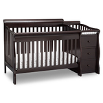 Princeton Junction Crib N Changer Dark Chocolate Product Image
