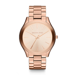 Ladies Slim Runway Rose Gold SS Watch Rose Gold Dial Product Image