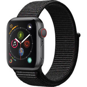 Watch Series 4 (GPS + Cellular, 40mm, Space Gray Aluminum, Black Sport Loop) Product Image
