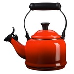 1.25qt Enamel on Steel Demi Kettle Cerise Product Image