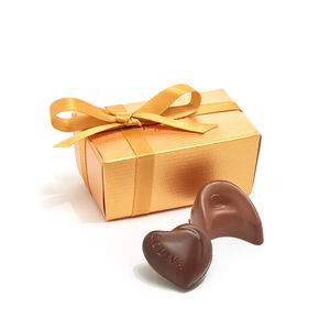 GODIVA 2 Piece Gold Party Favors w/Gold Ribbon Product Image